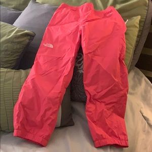 Toddle North face dry vent pants